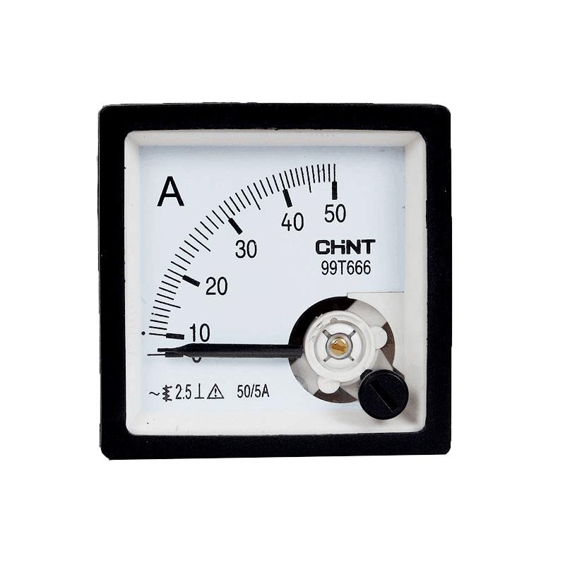 低压电流互感器和电流表的连接