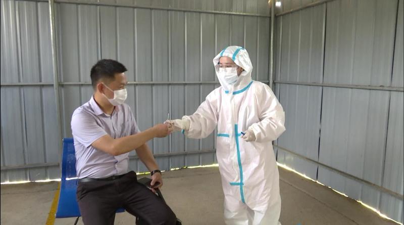 柴桑区复工企业新冠肺炎应急演练